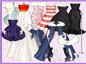Dress-up-spel-nag