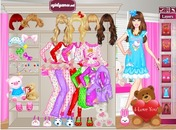 Dress-up-spel-pyjama-girls