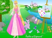 Dress-up-spil-prinsesse-rapunzel