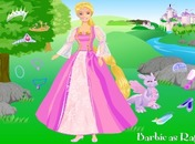 Rapunzel-dress-up-permainan