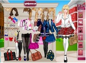 Game-buningur-schoolgirl-barbie