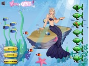 Mermaid-dress-up-barbie-permainan