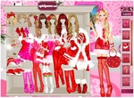 Barbie-dress-up-spel-voor-kerstmis