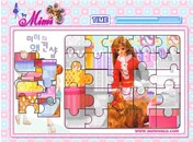 Barbie-puzzle-hra