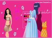 Dress-up-kukull-barbie-loje
